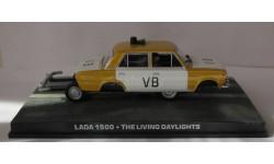 Lada 1500 1:43 007 James Bond, журнальная серия The James Bond Car Collection (Автомобили Джеймса Бонда), scale43