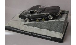 Aston Martin V8 Vantage 1:43  007 James Bond, журнальная серия The James Bond Car Collection (Автомобили Джеймса Бонда), 1/43