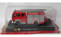 Iveco Magirus Lf 16-12 1:72 DEL PRADO Пожарная машина