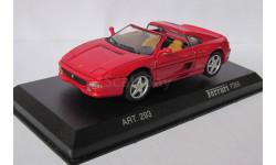 Ferrari F355 Targa Cabriolet 1:43 Detail Cars, масштабная модель, 1/43