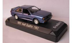 Audi Quattro 1982  1:43 Solido, масштабная модель, 1/43