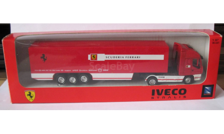 IVECO STRALIS SCUNDERIA FERRARI 1:87 NewRay, масштабная модель, 1/87