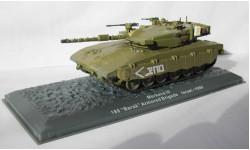 Танк Merkava III - 188 Barak Armored Brigade - Israel - 1990 1:72 DeAugustini