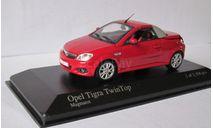 Opel Tigra 2004 1:43 Minichamps, масштабная модель, 1/43