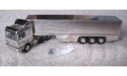 Фура, грузовик Mercedes Chrom 1748 S 1:43 NZG, масштабная модель, Mercedes-Benz, 1/43