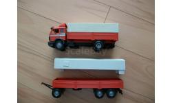 Фура, грузовик Mercedes Benz 1735 1:43 NZG