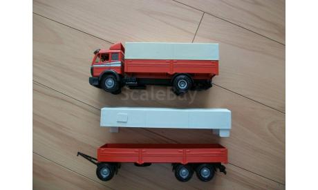 Фура, грузовик Mercedes Benz 1735 1:43 NZG, масштабная модель, scale43, Mercedes-Benz
