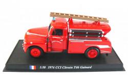 Citroen T46 Guinard CCI 1974 1:50 DEL PRADO Пожарная машина