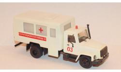 ГАЗ-3307 ПЕРЕДВИЖНОЙ МЕДИЦИНСКИЙ КАБИНЕТ, масштабная модель, Компаньон, 1:43, 1/43