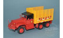 Diamond T968A Pinder circus #36 Straw Truck, масштабная модель, Direkt Collection, scale43, Diamond Reo Truck