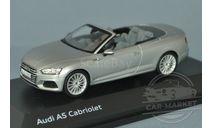 Audi A5 Cabriolet (florett silver), масштабная модель, Spark, scale43