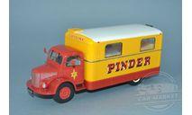 Unic ZU 51 Kitchen Truck Pinder Circus, масштабная модель, Direkt Collection, scale43