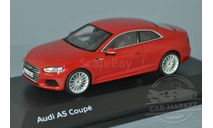 Audi A5 Coupe (tango red), масштабная модель, Spark, scale43