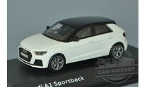 Audi A1 Sportback GB, масштабная модель, iScale, scale43