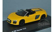 Audi R8 Spyder, масштабная модель, Herpa, scale43, Fiat
