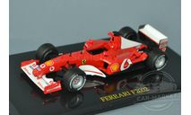 Ferrari F2002 #1 M. Schumacher, масштабная модель, Altaya, scale43