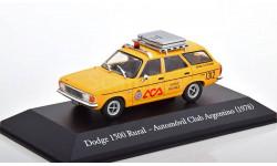 1:43 — Dodge 1500 Rural Automo vil Club Argentino, масштабная модель, Altaya, scale43