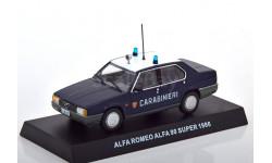 1:43 — Alfa Romeo Alfa 90 Super Carabinieri, масштабная модель, Altaya, scale43