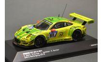 !!! С РУБЛЯ !!! 1:43 — Porsche 911 (991) GT3 R #911 Grello Pole Position 24h Nürburgring 2018, масштабная модель, IXO-CMR, 1/43