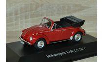 !!! SALE !!! 1:43 Volkswagen Käfer 1302 LS Cabrio 1971, масштабная модель, Altaya, scale43