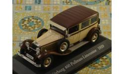Nürburg 460 Pullman (W08) (Altaya), масштабная модель, Mercedes-Benz, 1:43, 1/43