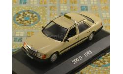 Mercedes-Benz 200 D W124 taxi (Altaya), масштабная модель, scale43