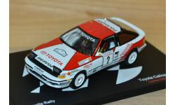 1:43 — Toyota Celica GT-4 (ST165) #2 Winner Acropolis Rallye 1990 Sainz, Moya, масштабная модель, Altaya, 1/43