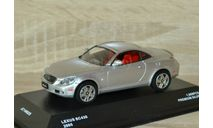 !!! SALE !!! 1:43 Lexus SC430 Convertible closed 2005, масштабная модель, J-Collection, scale43