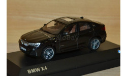 1:43 — BMW X4 (F26) sapphire black metallic, масштабная модель, Herpa, 1/43