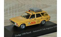 !!! SALE !!! 1:43 Dodge 1500 Rural Automo´vil Club Argentino, масштабная модель, Altaya, scale43