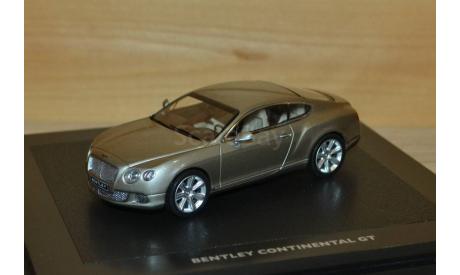 1:43 — Bentley Continental GTC Next Generation, масштабная модель, Minichamps, scale43
