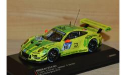 1:43 — Porsche 911 (991) GT3 R #911 Grello Pole Position 24h Nürburgring 2018, масштабная модель, IXO-CMR, scale43