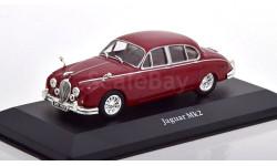 1:43 — Jaguar MK II (1960), масштабная модель, Atlas, scale43