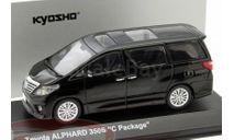 Toyota Alphard 350S C-Package, масштабная модель, Kyosho, scale43