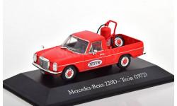 1:43 — Mercedes 220D/8 W115 Tecin, масштабная модель, Altaya, scale43, Mercedes-Benz
