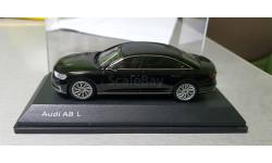 Audi a8 d5, масштабная модель, iScale