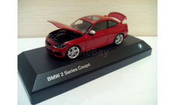 BMW 2 series coupe red 1/43