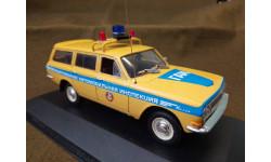 Волга 'ГАЗ-2402' Милиция ГАИ (конверсия) (М-1/43).