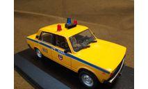 'ВАЗ-2105' милиция ГАИ г.Москва (конверсия) (М-1/43)., масштабная модель, Конверсии мастеров-одиночек, scale43