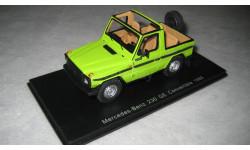 MERCEDES-BENZ 230GE Convertible 1988 (Spark), масштабная модель, 1:43, 1/43
