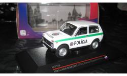 LADA NIVA (VAZ-2121) Slovak Repablik Police (IST 118), масштабная модель, ВАЗ, IST Models, 1:43, 1/43