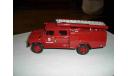 АЦ-30(53)двухкабинный пожарный, масштабная модель, 1:43, 1/43