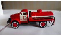 пожарная цистерна (сельская) на шасси ГАЗ-63, масштабная модель, 1:43, 1/43, СарЛаб