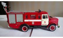 Пожарный автомобиль газодымозащитной службы АГ-20-9 на шасси ЗИЛ-(4333362) ПМ-585, масштабная модель, 1:43, 1/43, СарЛаб