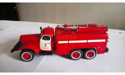 Пожарный автомобиль технической службы АТ-2 на шасси (ЗИЛ 157K)-ТА,, масштабная модель, 1:43, 1/43, СарЛаб