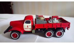 ЗИЛ 157К сельский пожарный автомобиль с комплектом П.О., масштабная модель, 1:43, 1/43, СарЛаб