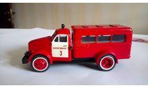 ПАЗ-653, штабной пожарный автомобиль, масштабная модель, 1:43, 1/43, СарЛаб