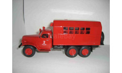 КУНГ ЗИЛ 157 пожарный, масштабная модель, 1:43, 1/43, Alf