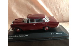 Mercedes-benz 200 1965г