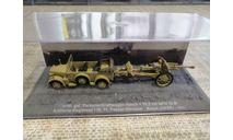 mittl. gel. Personenkraftwagen Horch + 10.5 cm leFH 18M, масштабные модели бронетехники, DeAgostini (военная серия), scale72